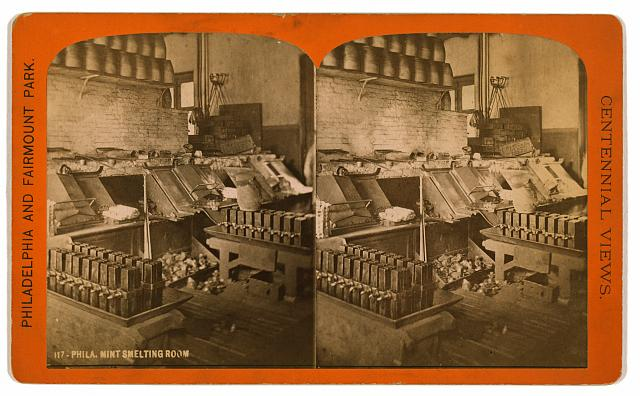 Phila. Mint smelting room
