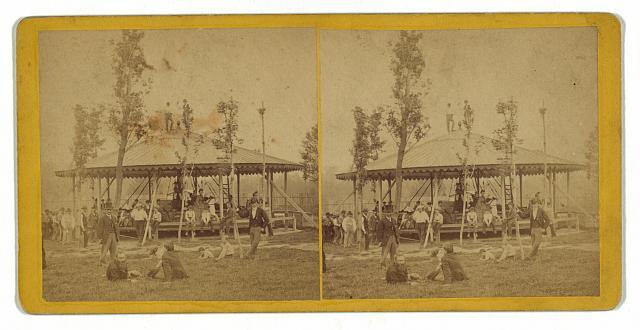 Whirligig in Shützen Park, Philadelphia, Pa., Sep. 1873