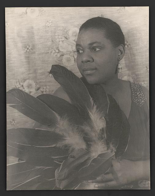 Bessie Smith, photo by Carl Van Vechten, 3 Feb 1936