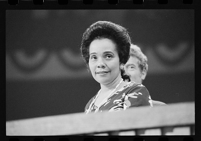 [Coretta Scott King at the Democratic National Convention, New York City]