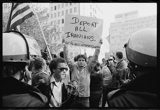 [Iran Hostage Crisis student demonstration, Washington, D.C.]