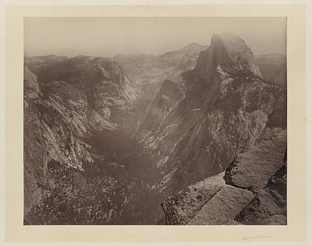 [Half Dome, Yosemite Valley, Calif.]