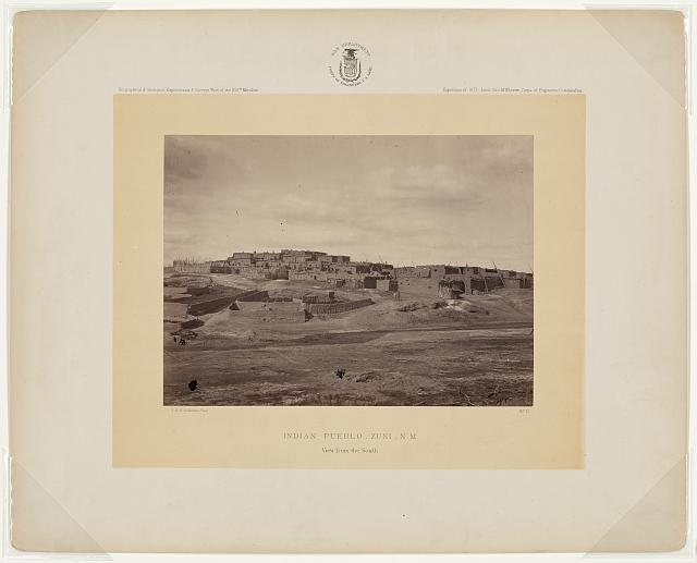 Indian pueblo, Zuni, New Mexico