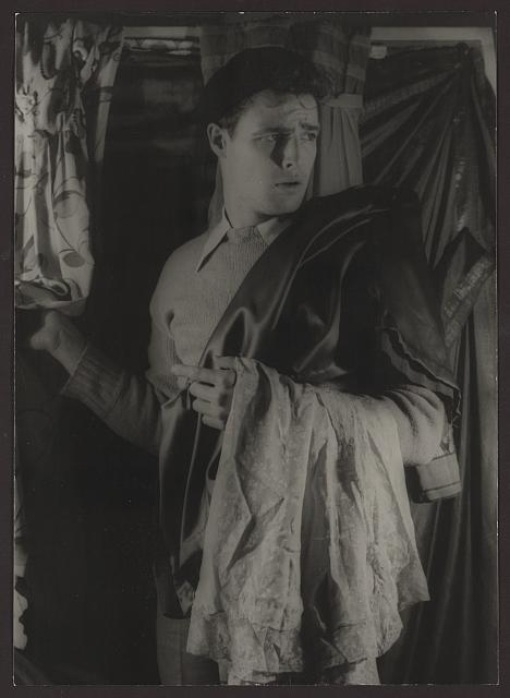 "[Portrait of Marlon Brando, ""Streetcar Named Desire""]"