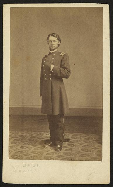 [Full-length portrait of an unidentified Civil War soldier]