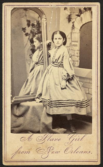 A slave girl from New Orleans