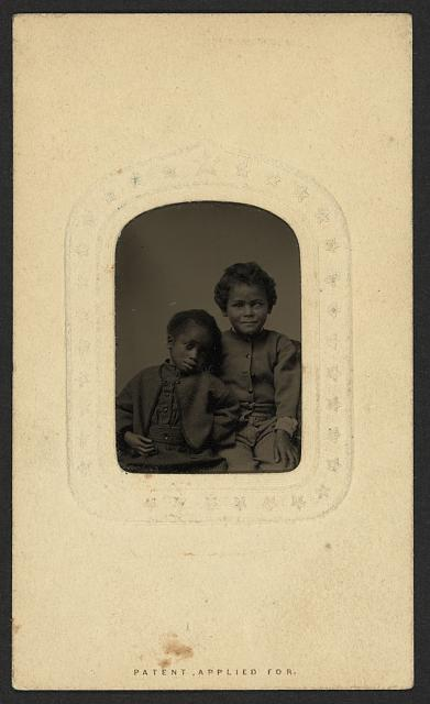 Robert & Tommy Bagby, 5 [&] 8 years, March 4th 1868, Richmond, Va.