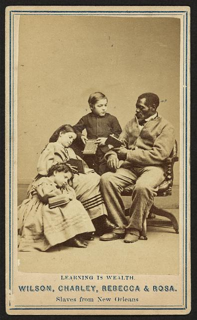 Wilson, Charley, Rebecca &amp; Rosa, slaves from New Orleans