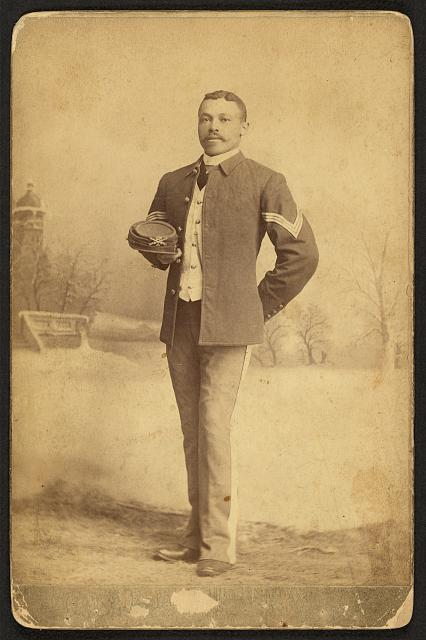 [Buffalo Soldier, 25th Infantry, Co.]