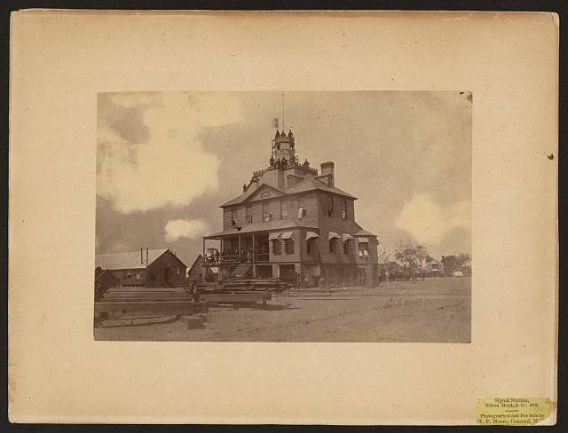 Signal Station, Hilton Head, South Carolina, 1863
