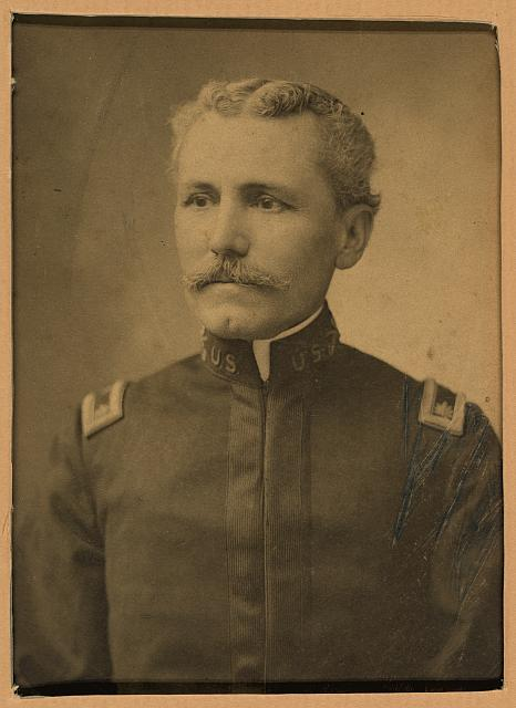 [Col. E.L. Huggins, 8th US VI, Chickamauga, Ga., Spanish American War]