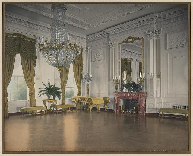 A corner of the East Room, White House