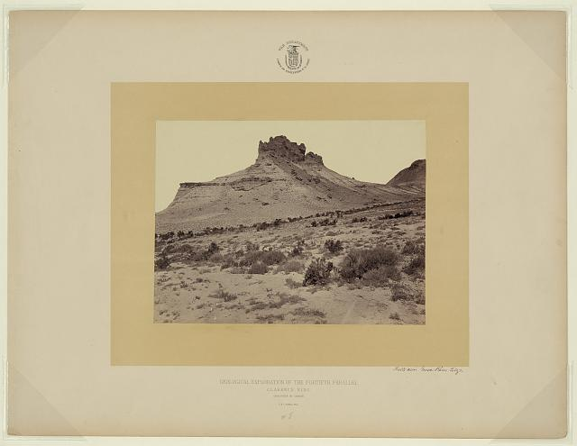 Butte near Green River City [Wyo.]