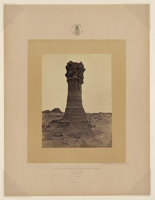 Natural Column, Washakie Bad Lands