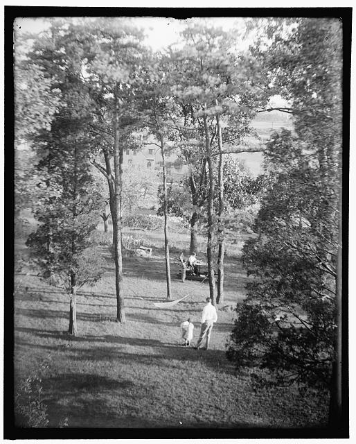 [The Turner garden at Waban, Mass.]