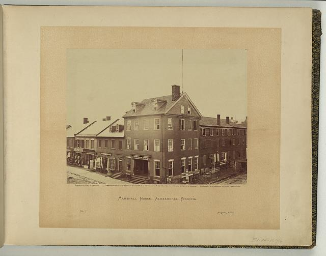 Marshall House, Alexandria, Virginia