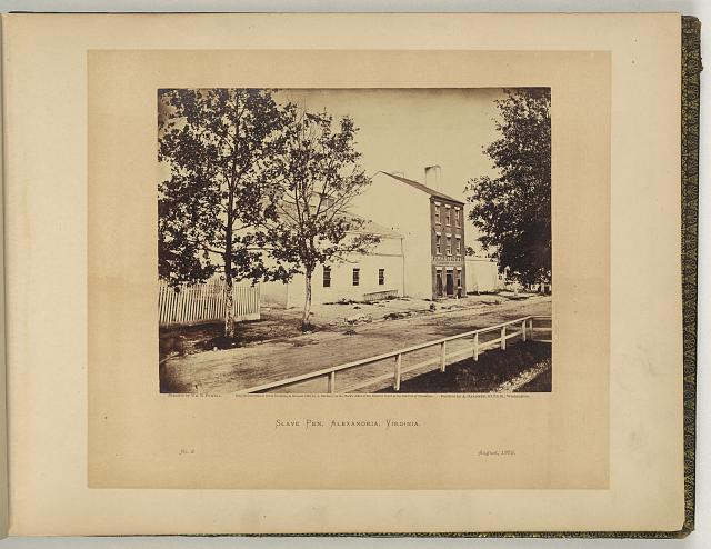 Slave pen, Alexandria, Virginia