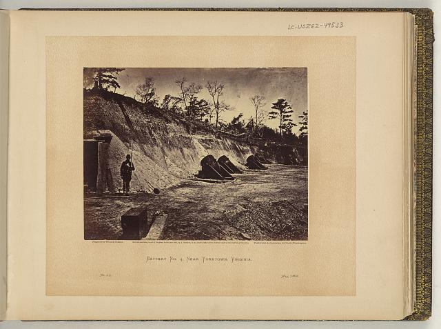 Battery no. 4, near Yorktown, Virginia