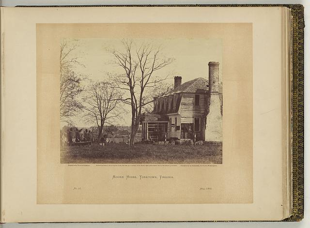 Moore house, Yorktown, Virginia