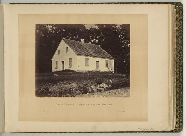 Dunker Church, battle-field of Antietam, Maryland