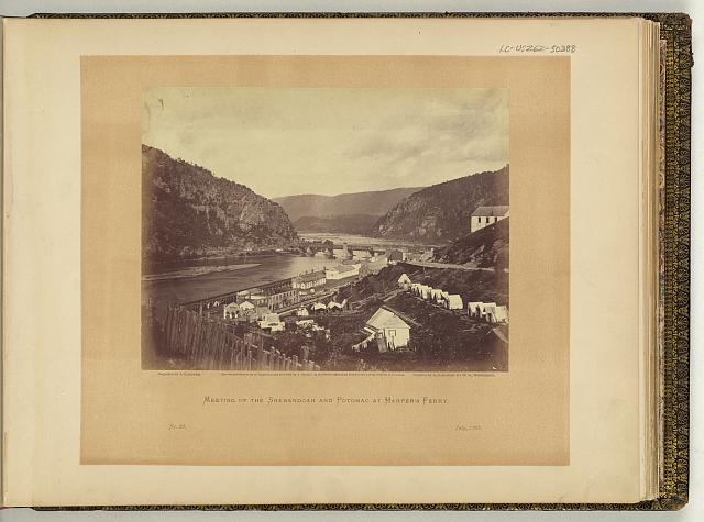 Meeting of the Shenandoah and Potomac at Harpers Ferry