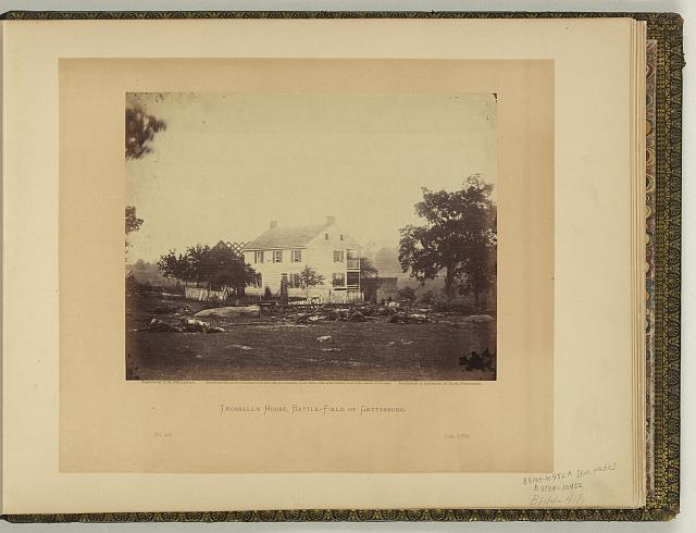 Trossell's House, battle-field of Gettysburg