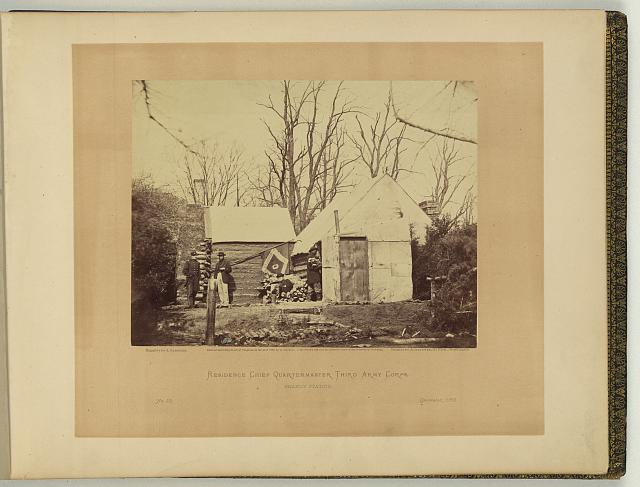 Residence, chief quartermaster, Third Army Corps, Brandy Station