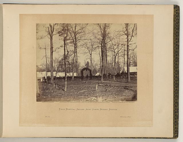 Field hospital, Second Army Corps, Brandy Station