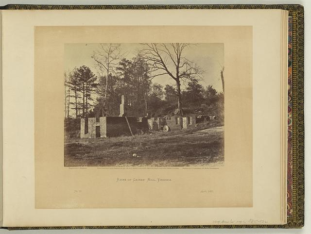 Ruins of Gaines' Mill, Virginia