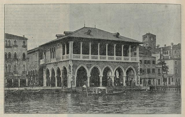 The Fish market, view from the Grand Canal
