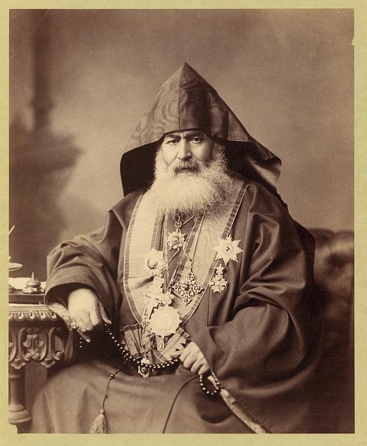 Palestine, Jerusalem, Armenian Patriarch