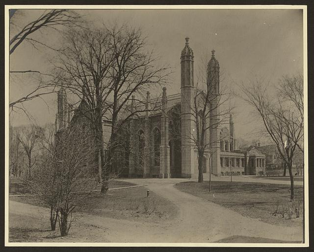 [Gore Hall, Harvard College, Cambridge, Massachusetts]