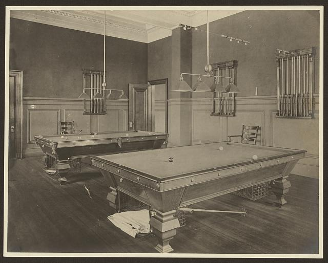[Billiard hall, Carnegie library of Homestead, Munhall, Pennyslvania]