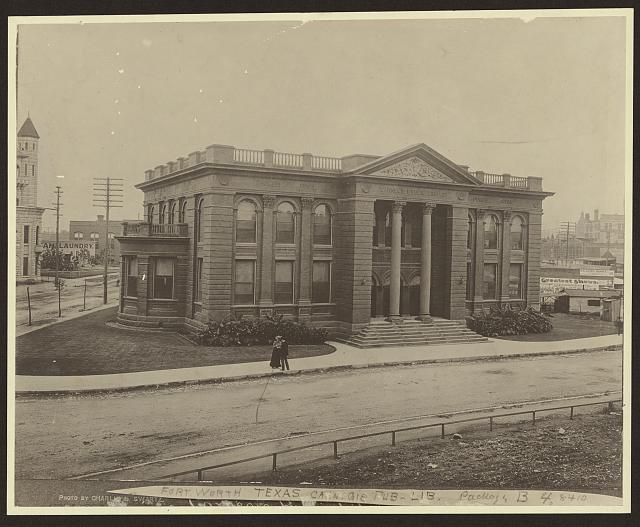 [Carnegie public library, Fort Worth, Texas]