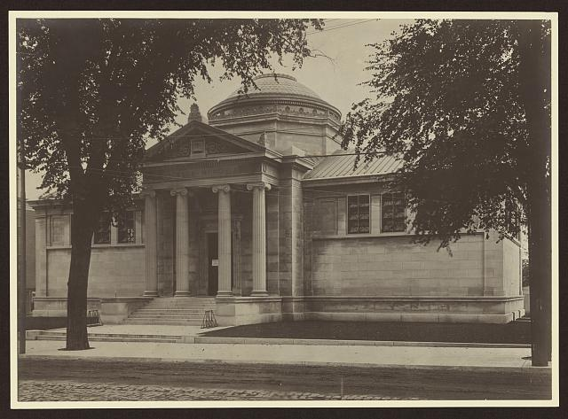[Stickler Memorial Library, Orange, New Jersey]