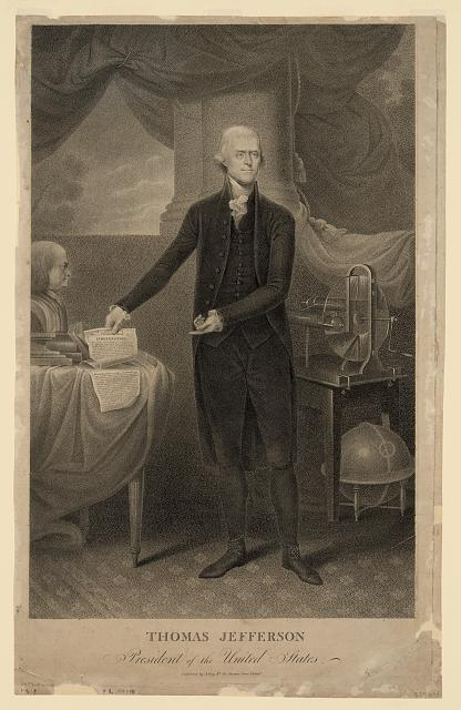 Thomas Jefferson, President of the United States