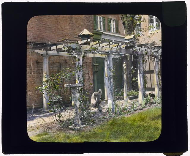 [The Touchstone Garden, 118-120 East 30th Street, New York, New York Pergola]