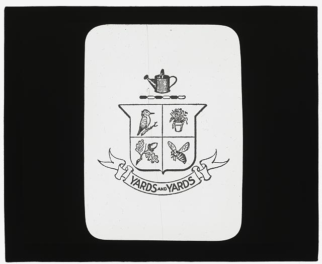 [Insignia of the Society of Little Gardens, Philadelphia, Pennsylvania]