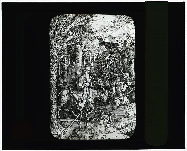 [Reproduction of print: Flight into Egypt]