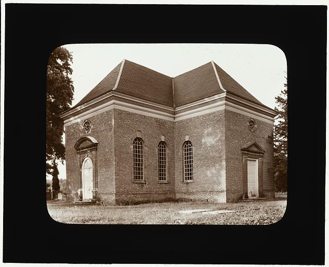 [Christ Church, Kilmarnock vicinity, Lancaster County, Virginia. Entrances]