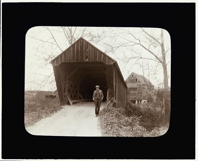 [Covered Bridge, Trent's Mills, Buckingham County, Virginia]