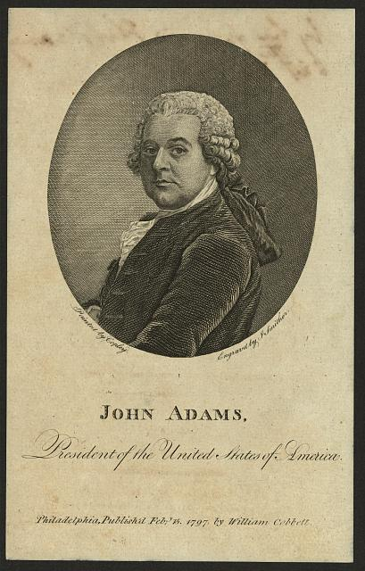 John Adams, President of the United States of America