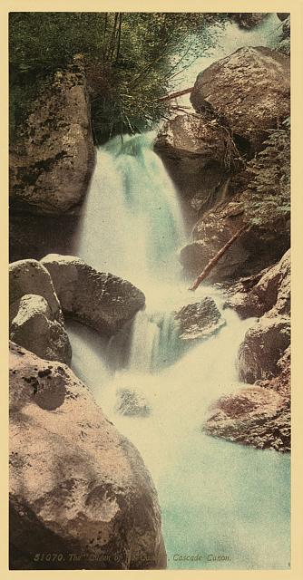 "The ""Queen of the Canon"" [Cañon], Cascade Canon [Cañon]"