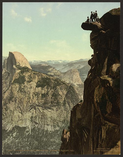 Glacier Point and South Dome, Yosemite Valley, Cal.