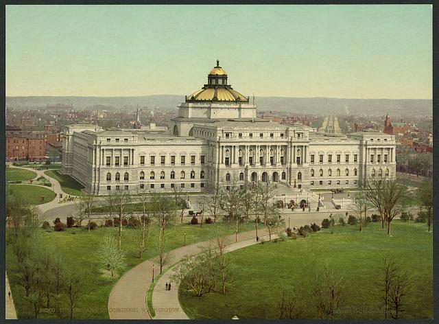 The Library of Congress, Washington