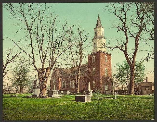 Bruton Parish Church, Williamsburg, Virginia