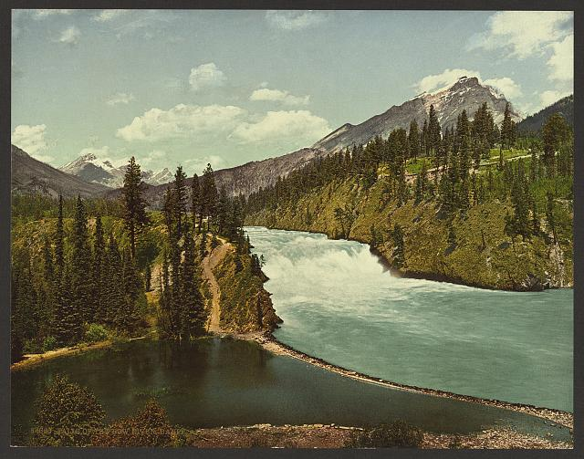 Falls of the Bow River, Banff, Alberta