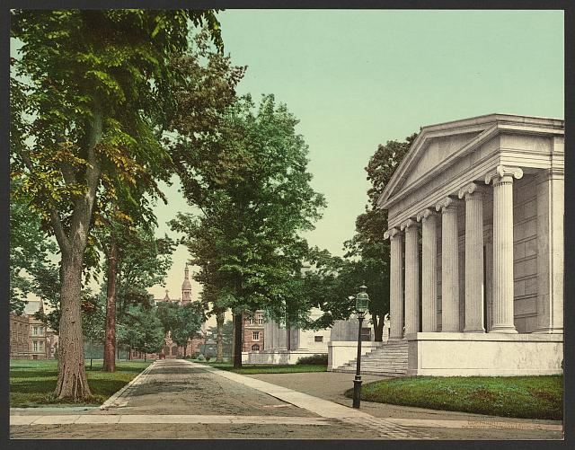 Whig and Clio Halls, Princeton University