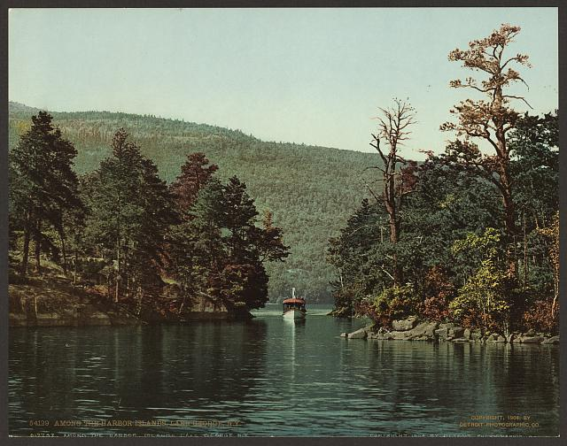 Among the Harbor Islands, Lake George, N.Y.