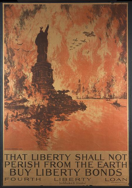 That liberty shall not perish from the earth - Buy liberty bonds Fourth Liberty Loan /
